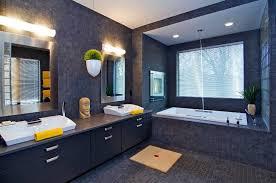 blue and black bathroom ideas 15 bold and beautiful black bathroom design ideas evercoolhomes