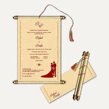 scroll wedding invitations 1 scroll wedding cards store scroll wedding invitations