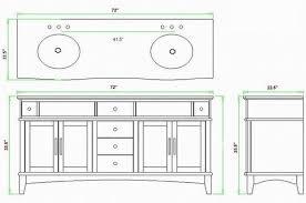 Standard Bathroom Vanity Top Sizes Bathroom Best Vanity Sizes Chart With Standard In Designs Great