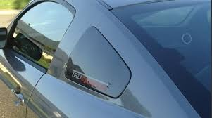 mustang window covers 2005 2009 mustang quarter window covers carbon fiber tc10024