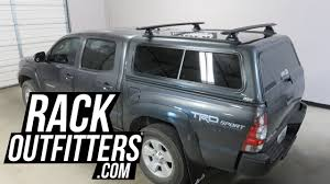 toyota truck shell toyota tacoma with are cer shell topper with rhino rack