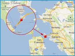 san francisco on map san francisco oakland map travel map vacations