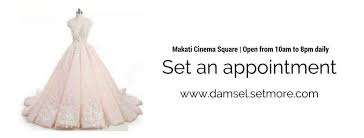wedding dress terms gowns for rent manila by damsel home