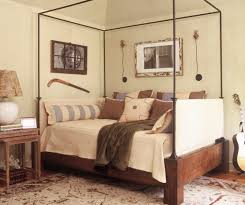 metal daybed in bedroom eclectic with computer room next to queen