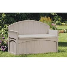 Garden Bench With Storage Outdoor Bench With Storage Beefed Up Outdoor Storage Bench Do It