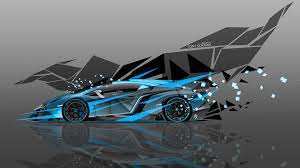 Lamborghini Veneno Blue - 4k lamborghini veneno side super abstract car 2015 el tony