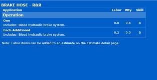 Brake Cost Estimate by Rear Brake Line Repair Cost Ford Powerstroke Diesel Forum