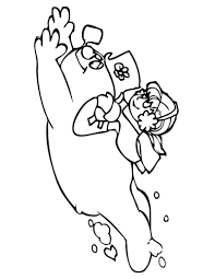 frosty the snowman coloring page free download