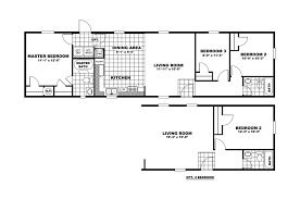 16 x 60 mobile home floor plans 16 free printable images house