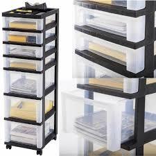 Plastic Storage Cabinet 7 Drawer Storage Cart 149 Unique Decoration And W File Storage
