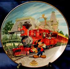 40th anniversary plates disneyland s 40th anniversary collector plates