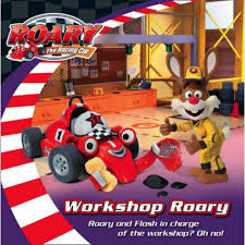 roary racing car workshop roary maria darling adventure