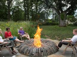 the warmest outdoor fireplace ideas decoration channel