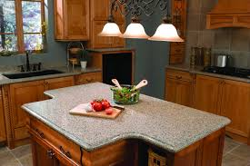 Oak Kitchen Cabinets by Furniture Exciting Silestone Vs Granite With Classic Chandelier