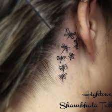 decorative dragonfly tattoo dragonfly neck tattoo on tattoochief com