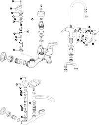 kohler kitchen faucet parts diagram kohler faucet parts service sink faucet schematic kohler forte