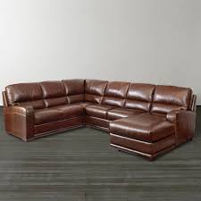 Brown Leather Sectional Sofa by Stunning Ushaped Brown Sectional Sofa S3net Sectional Sofas