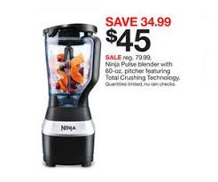 black friday deal at target ninja pulse blender with 60 oz pitcher featuring total crushing