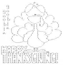happy thanksgiving in ascii text happy thanksgiving texts