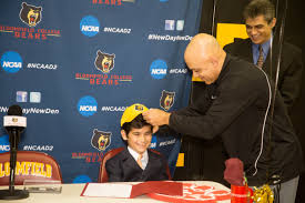 Ncaa Letter Of Intent by Montclair 8 Year Old Signs Letter Of Intent For Bloomfield College