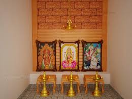 evens construction pvt ltd pooja room interior