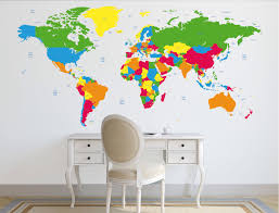 world map decal political world map wall decal country names map world map decal political world map wall decal country names map wall sticker