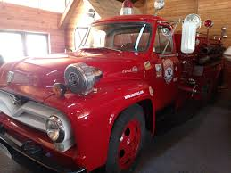 Ford F350 Truck Used - 1955 ford f600 firetruck stock 000013 for sale near brainerd mn