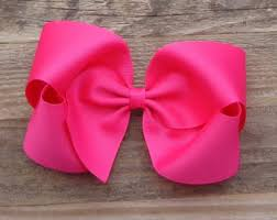 large hair bows etsy