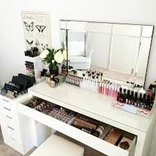 Makeup Table Fantastic Professional Vanity Table With Best 25 Makeup Desk Ideas