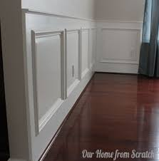 Molding For Wainscoting Remodelaholic Diy Wainscoting Tutorial