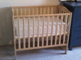 Mini Crib Mattress Amusing Baby Cribs With Wheels Pictures Design Ideas Surripui Net