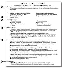 Education On A Resume Examples by Cv Writing Program