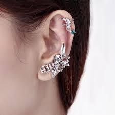 left side earring cuff earrings ear cuff earrings jewinston