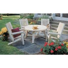 Log Outdoor Furniture by Rustic Patio Outdoor Furniture Sportsman U0027s Guide