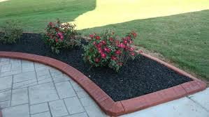 diy concrete edging concrete edging stones how install lawn metal