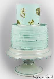 bubble and sweet a vintage dress inspired wedding cake filled
