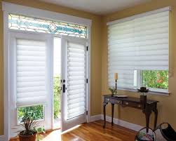 Striped Roman Shades French Door Roman Curtains