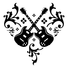 music from the heart tattoo design real photo pictures images