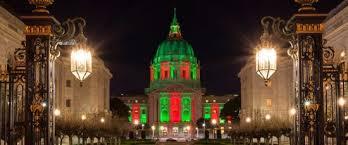 sf city hall lights 8 must sees in san francisco this holiday season san francisco ca