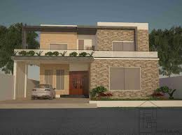 Architectural Design Of 1 Kanal House Architectural Design Bungalow Plans Gharplans Pk