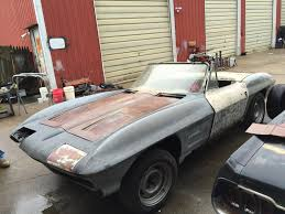1963 corvette project car for sale f s 1963 corvette conv roller great ls project car