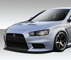 mitsubishi vietnam duraflex evo x v3 body kit 6 pc for lancer mitsubishi 08 17 ebay