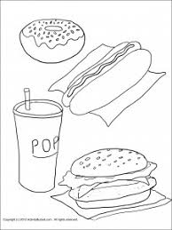 13 best images of healthy and junk food worksheets healthy food