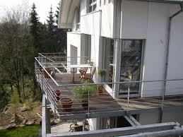 balkon mit treppe cm metallbau referenzen