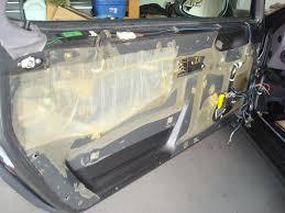 Sound Dening Interior Doors Sound Deadening Begins Rennlist Porsche Discussion Forums