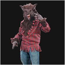 halloween werewolf props deluxe werewolf costume brown m l mad about horror
