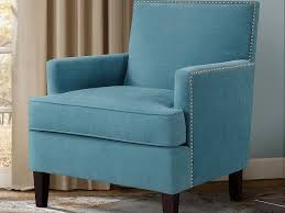 Teal Accent Chair Blue White Accent Chairs With Arms And Large Back On Black Wooden