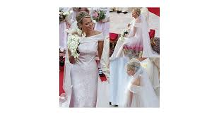 armani wedding dresses pictures of princess charlene of monaco wedding dress see