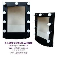 Professional Makeup Stand Vanities Bathroom Mirror With Led Lights Professional Makeup