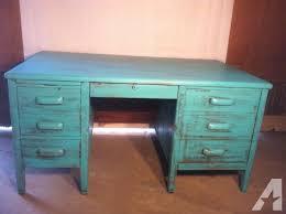vintage desk for sale shabby chic dark teal vintage desk fay nc for sale in